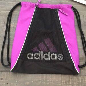 Adidas Track Gym Bag. Purple and Black. LN